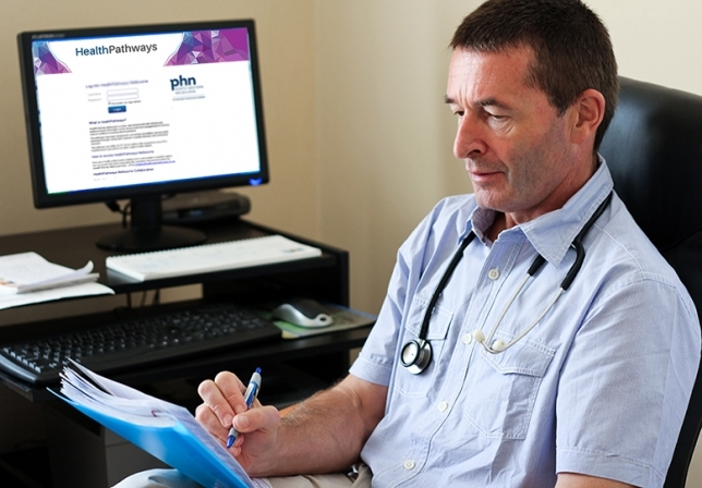 GP using HealthPathways