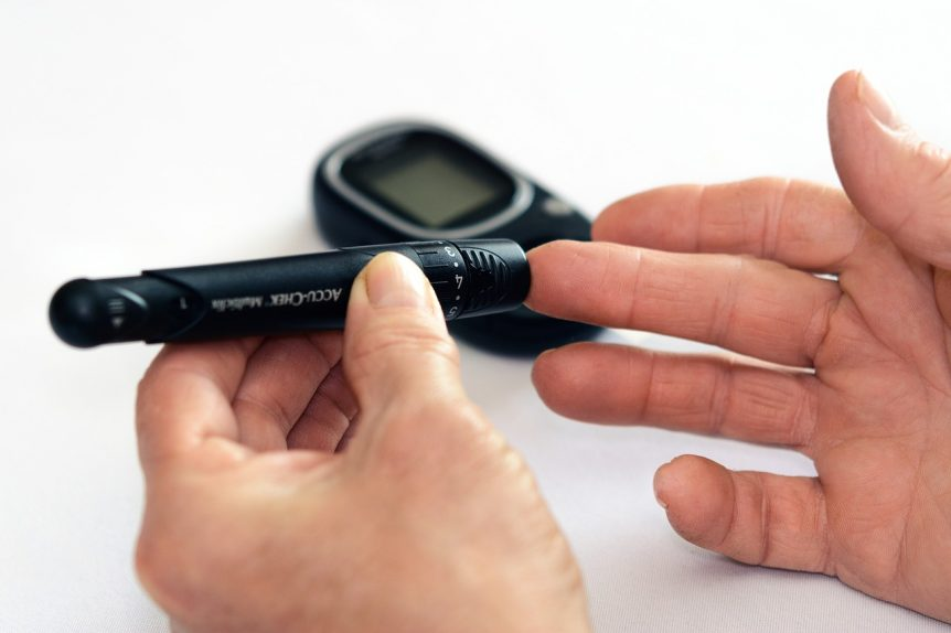 testing blood sugar level